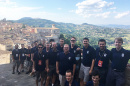UNH jazz students in Italy
