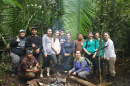 UNH Manchester students in Belize