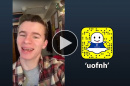 UNH student Ben Bernier '20 takes over the uofnh Snapchat account