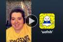 Leah Kuppermann '19 takes over the uofnh Snapchat account