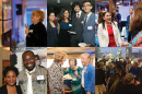 collage of images from UNH's 150th anniversary celebrations across the U.S.