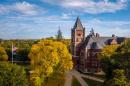UNH campus autumn 2017