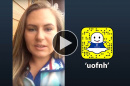 Eva Cunningham '17 takes over UNH's Snapchat