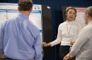 UNH graduate student at Graduate Research Conference