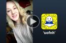 "Jemina Shepherd '19 takes over the ""uofnh"" Snapchat account"