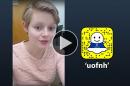 Juliana Good '21 takes over UNH's Snapchat
