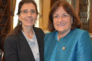 UNH's Jane Stapleton and N.H. Congresswoman Ann McLane Kuster