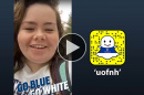 Liliana Daly '17 takes over the UofNH Snapchat account