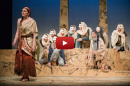 Students from UNH, Keene and Plymouth acting in Oedipus