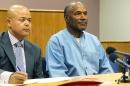 O.J. Simpson at his parole hearing