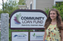 UNH student Rachel Vaz '18 at Community Loan Fund internship