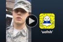 Air Force ROTC cadet Sean Bowers '20 takes over the UNH Snapchat account