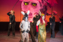 image from dress rehearsal for Shrek the musical at University of New Hampshire