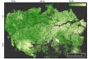 Satellite map image