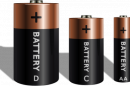 Four household batteries