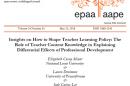 EPAA staff list