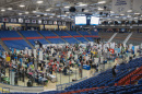 Students at UNH career and internship fair