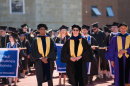 UNH faculty members at Commencement 2017