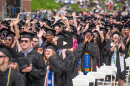 UNH graduates at commencement 2018