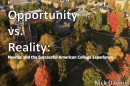 Opportunity vs Reality: International students and the American college experience by Nick Davini