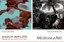 exhibition postcard detail