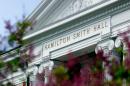 Detail of Hamilton Smith Hall