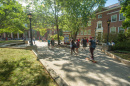 Murkland Courtyard on UNH campus, Durham, N.H.