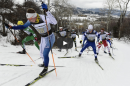 UNH Nordic skier Peter Holmes