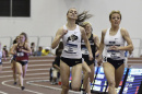 Elinor Purrier running for the NCAA national title in the mile run