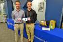 UNH students presenting their research on vehicle technology
