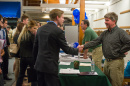 Students meet employers at the Natural Resources Career Fair sponsored by the St. Martin Career Exploration Center.