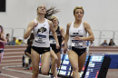 UNH graduate Elinor Purrier '18 clinching an NCAA title in the mile race