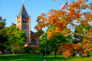 UNH campus in the fall