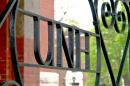 campus detail of cast iron UNH rail