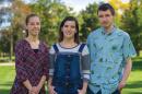 Erica, Julia and Raymond Zabkar