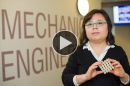 UNH mechanical engineering professor Yaning Li