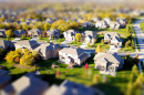 Aerial image of a neighborhood