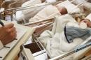 babies in hospital nursery