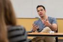 photo of Jaed Coffin teaching