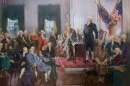 painting: Signing of the Constitution
