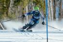 UNH's KellyDiNapoli skiing