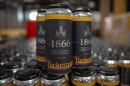 cans of 1866 beer
