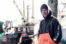 Brendan Landry '17 at fishing pier