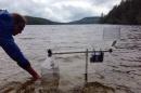 lake monitoring kit in water