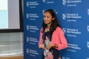 Meera Kurup, a junior at Bishop Guertin High School in Nashua, N.H., recipient of the 2017 AiC Award