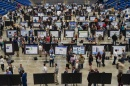 The Whittemore Center full of  students with their poster presentations