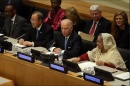 then-Vice President Joe Biden led a panel on peacekeeping with global leaders at the United Nations