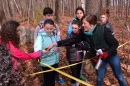 Andrea Jilling with children in the 2016 NH Envirothon