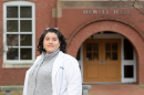 Assistant professor of nursing Alyssa O'Brien