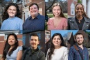 montage of 8 student fellows